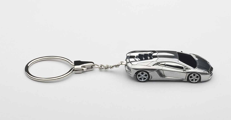 llavero AUTOart escala 1/87 Lamborghini Aventador (aluminio ...