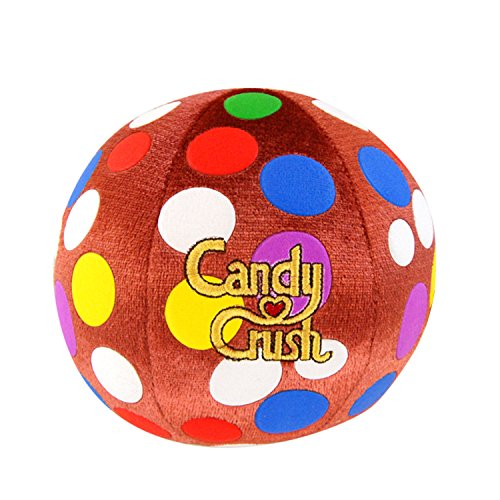 Candy Crush Collectible 5-Inch Color Bomb Candy Plush with Sound (Candy Crush Color Bomb compare prices)