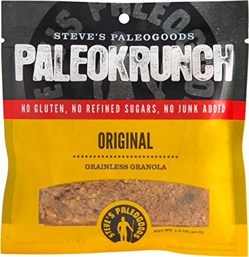 Steve's PaleoGoods, PaleoKrunch Paleo Bar Original, 1.5 oz (Pack of 6)