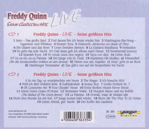 Freddy Quinn Live by Lasel