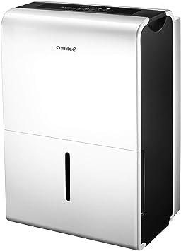 Opinión sobre Comfee MDDP-50DEN7 Deshumidificador, 775 W, 230 V, Color Blanco, 50L-100m²-DEN7