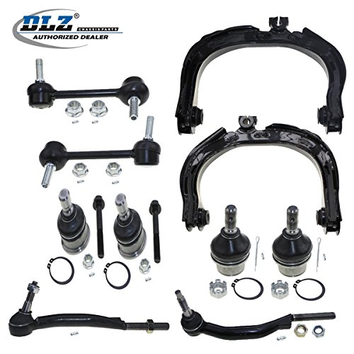 dlz-10-pcs-kit-2-front-upper-control-arms-4-ball-joints-2-outer-tie-rod-ends-2-rear-sway-bars-for-20