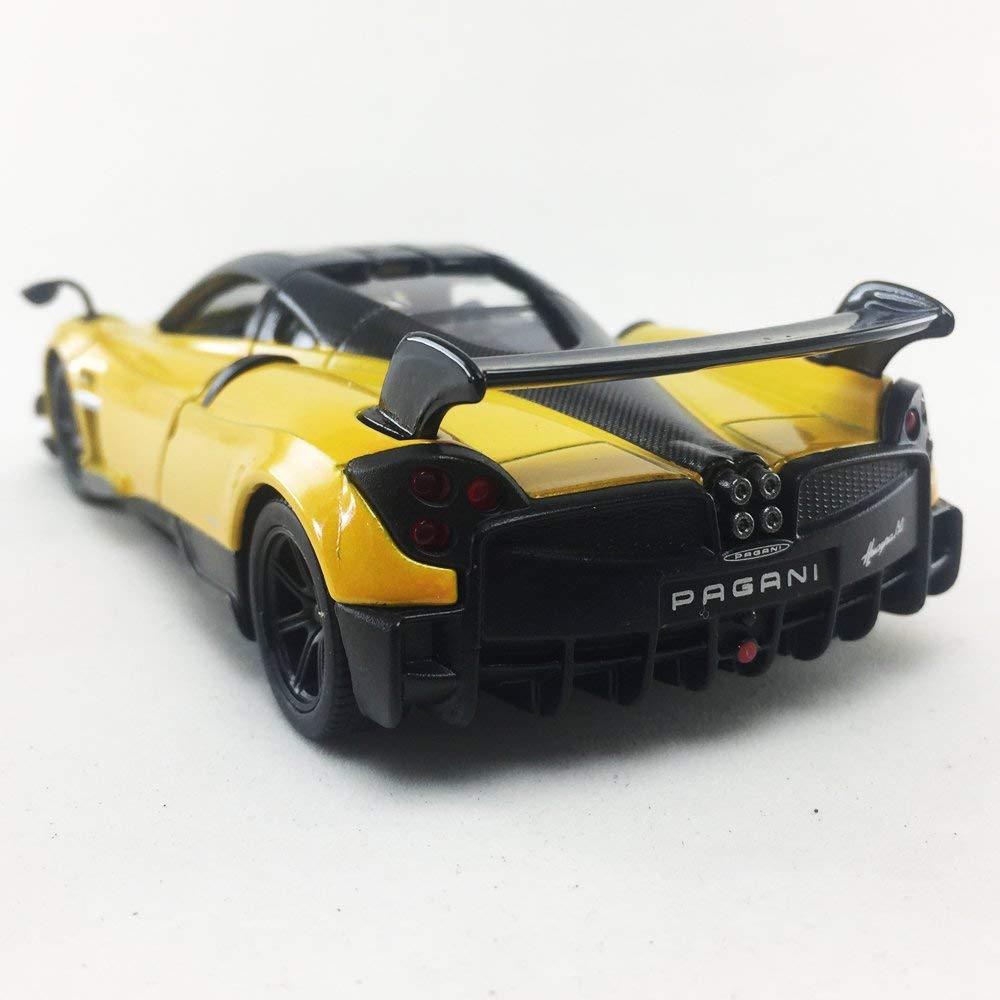 Blau Kinsmart Pagani Huayra BC Modell Super Sportwagen Ma/ßstab 1:38 Die Cast Metal Opening T/üren