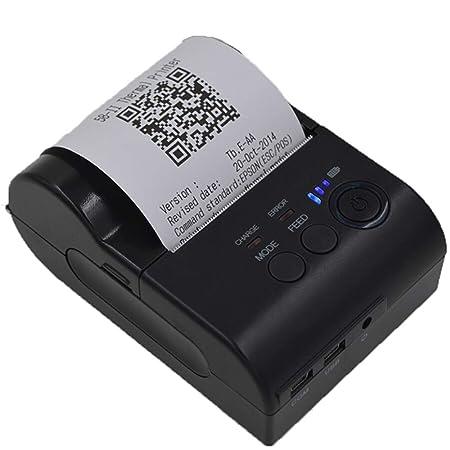 WXS 58Mmpos Impresora Térmica Portátil Factura De Venta BT4 ...