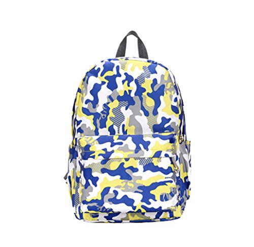 Female Backpack Casual College Wind Multicolor Camouflage Backpack Travel Bags (Coleman Multicolor Flashlight compare prices)