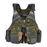 Best Fishing Vests - Lixada Fly Fishing Vest,Fishing Safety Life Jacket Breathable Review