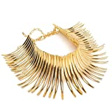 Fashion Sparkling Gold Tone Canine Shape Short Choker - Best Reviews Guide