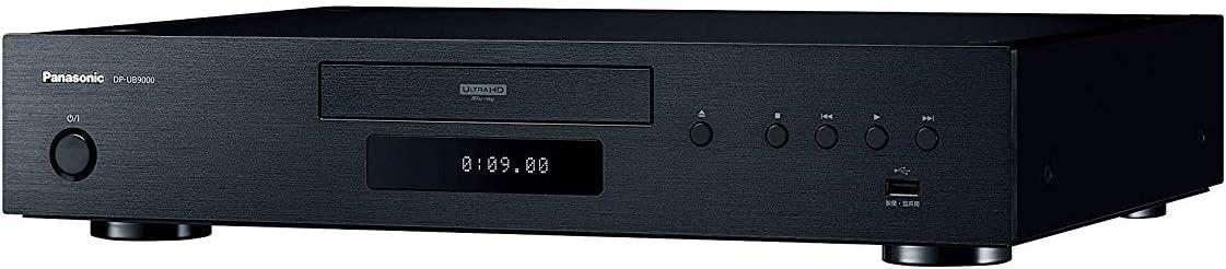 パナソニック ブルーレイプレーヤー Ultra HDブルーレイ対応 DP-UB9000-K 「Tuned by Technics」
