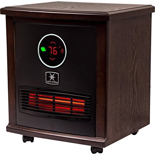 space heater reviews heat logan portable infrared quartz heater space 12394