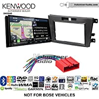 Volunteer Audio Kenwood Excelon DNX994S Double Din Radio Install Kit with GPS Navigation Apple CarPlay Android Auto Fits 2007-2009 Mazda CX-7 (Without Bose)