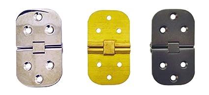 Cerniere Per Tavoli Allungabili.Cerniera Con Fermo Per Tavolo Allungabile In Ottone 45mm X 80mm