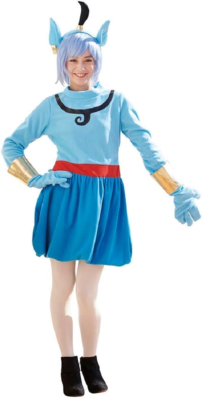 Disfraz de Aladdin Genie de Disney, para Adolescente/Mujer, Talla ...