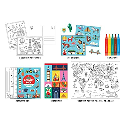 Our World Activity Pack To Go: Toys & Games