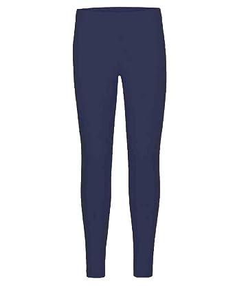 Girls Plain Leggings Kids Children Teen Basic Stretchy Full Length