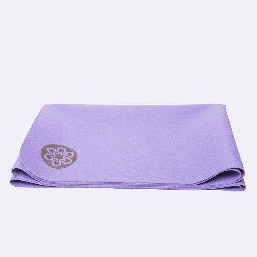 Antideslizante Yoga Mat - Caucho Natural Plegable Delgado ...