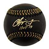 Best Chippers - Chipper Jones Autographed/Signed Atlanta Braves Black OML Baseball Review