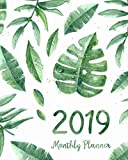 2019 Monthly Planner: A Year | 12 Month | January 2019 to December 2019 For To do list Journal Notebook Planners And Academic Agenda Schedule ... weekly monthly Calendar planner) (Volume 7)