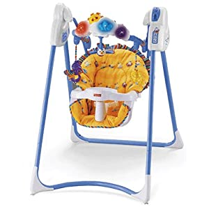 Fisher Price Flutterbye Dreams Swing Amazon Co Uk Baby