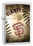 Zippo MLB San Francisco Giants Brushed Chrome Lighter