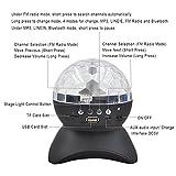 Gearmax-Luces-de-la-etapa-LED-porttiles-con-inalmbrica-Ranura-tarjeta-Mini-Altavoz-Bluetooth-Rotacin-lmparas-Efecto-mgico-bola-de-discoteca