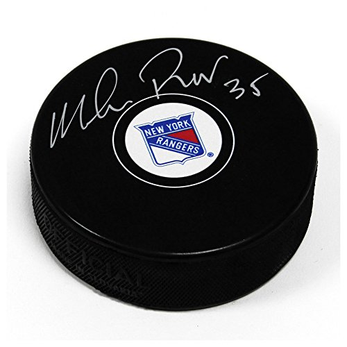 Mike Richter New York Rangers Autographed Signature Autograph Model Hockey Puck - COA Included from Sports Collectibles Online