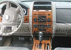 Ford escape interior wood dash trim kit set - Ford escape interior accessories ...