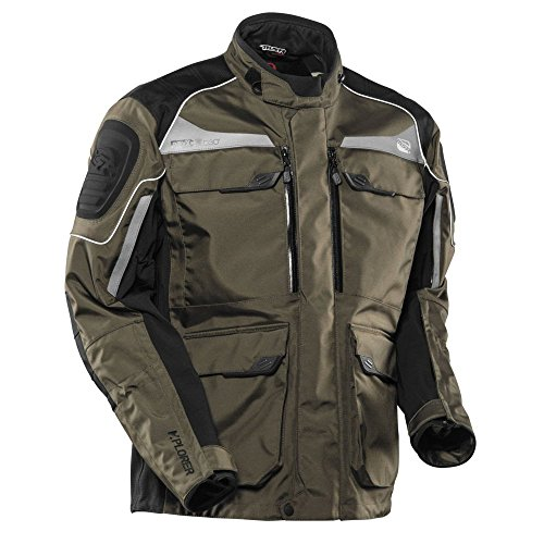 Msr Motorcycle Gear (MSR M15 Alterra Textile Motorcycle Jacket Forrest Green (Large))