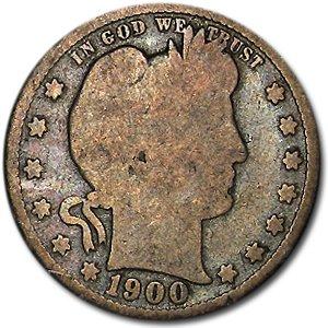 1900 S Barber Quarter Good Quarter Good