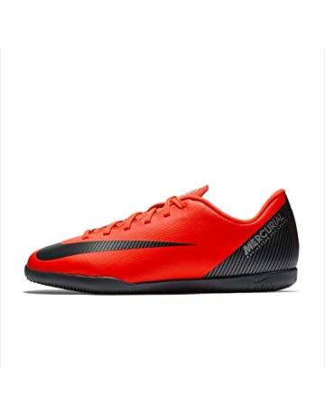 Bota Indoor NIKE CR7 JR Vapor X 12 Club IC Rojas