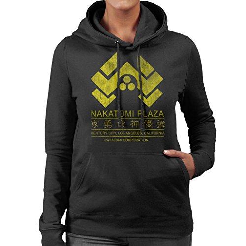 Plaza Plaza Plaza Women's Sweatshirt Hard Nakatomi 7 Logo Hooded City Die Die Die Die Cloud xq7waTK64A
