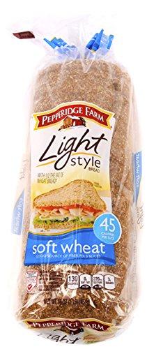 (Pepperidge Farm Light Soft Wheat Bread 16 oz (Pack of 2))