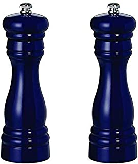 product image for Fletchers' Mill Federal Salt & Pepper Mill, Cobalt - 6 Inch, Adjustable Coarseness Fine to Coarse, MADE IN U.S.A.