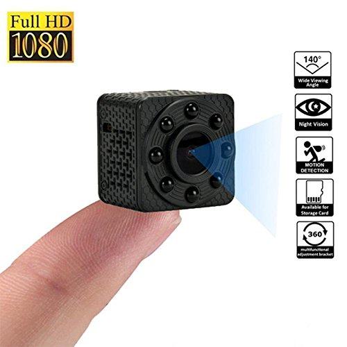 Leoie Night Vision Wide Angle Mini Camera HD Camcorder IP Wi-Fi Video Camera Recorder for Cloud Storage by Leoie