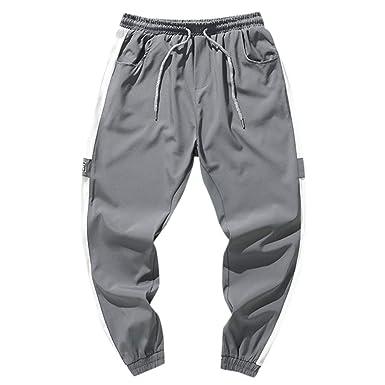cinnamou Pantalones Hombre, Pantalones De Correr con ...