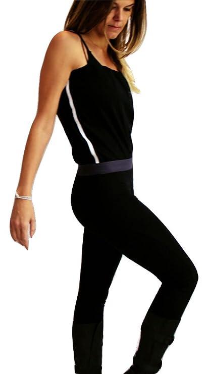 e597b1ebc98b Prancing Leopard Women s Jumpsuit Lyon Catsuit Skirt-Legging in Organic  Cotton - S -