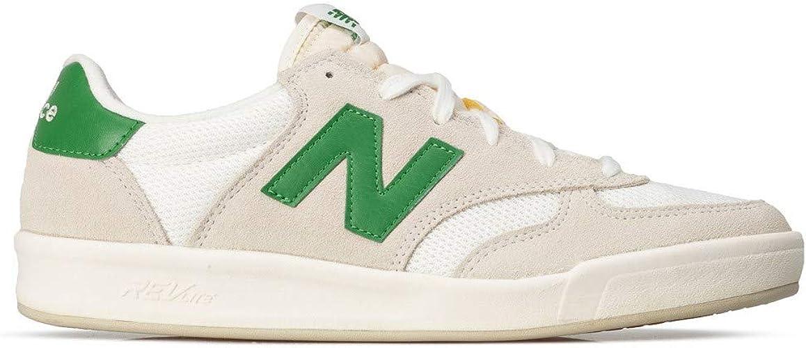 Muchos miseria granja  New Balance - Mens 300 CRT300C1 Lifestyle Shoes, 3.5 UK - Width D,  White/Green: Amazon.co.uk: Shoes & Bags