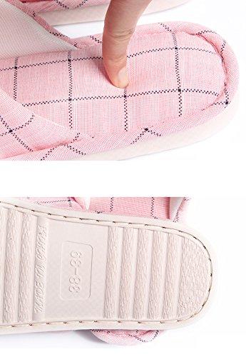 Teasoin Heren Warm Anti-slip Huis Wasbaar Slipper Voor Mannen Groen