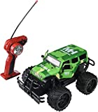 AJ Toys & Games RC Army Camo Cross Country Jeep Wrangler 1:14 Scale Battery Operated Remote Controlled 4WD 2.4 GHz Toy Jeep Truck w/ Remote Control & Door Opening Action!