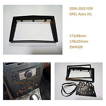 autostereo 11 - 028 - Embellecedor para radio de coche, Panel de radio: Amazon.es: Coche y moto