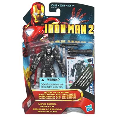 Iron Man 2 War Machine Figure #12: Toys & Games