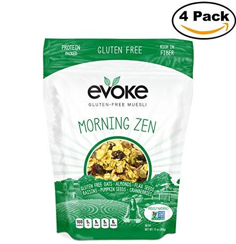 Gluten Free Muesli  Morning Zen  12 Ounce  Pack Of 4