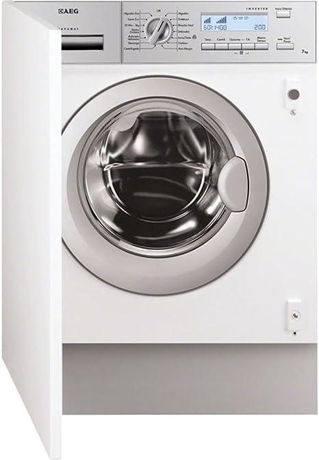 Aeg - Lavadora l82470bi integrable 7kg 1400 rpm clase a+++: 589.27 ...