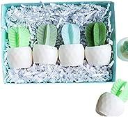 Cactus Handmade Soap Gift Set Women for Garden Lovers/Birthday/Christmas/Under 30
