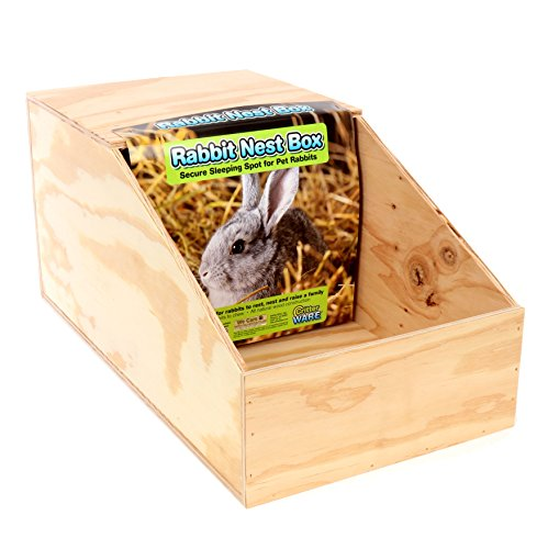 Ware Manufacturing Wood Nesting Box for Chickens and Small Pets, Large (Small Nesting Box)