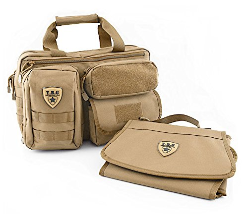 Tactical Baby Gear Deuce 2 0 Tactical Diaper Bag With Changing Mat  Coyote Brown