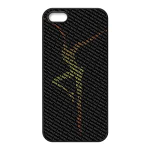 Dave Matthews, Rubber Phone Cover Case For iPhone 5, iphone 5s Cases, Black / White