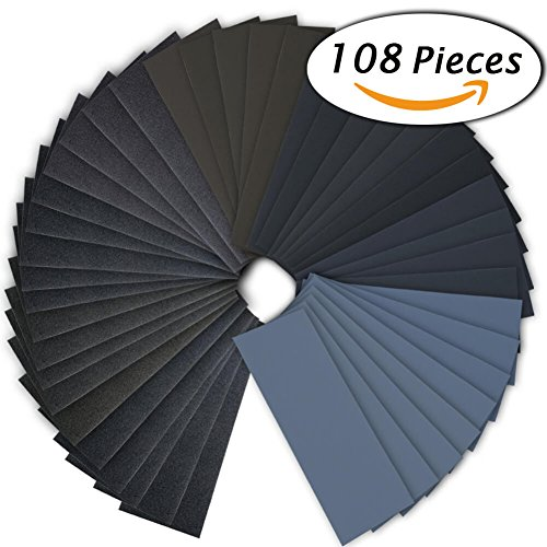 Sandpaper Assortment Automotive Furniture Finishing product image