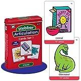 """Webber Articulation """"S"""" Sound Card Deck - Super Duper Educational Learning Toy for Kids"""