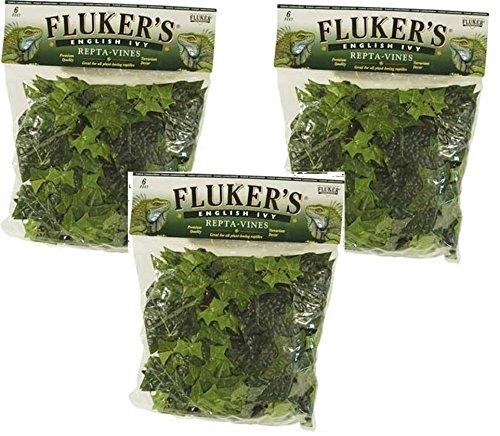 Fluker's Repta Vines-English Ivy 18ft Total (3 Packs with 6ft per Pack) by Fluker's