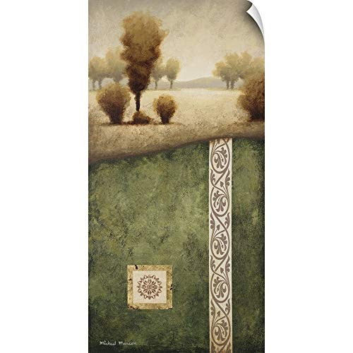 CANVAS ON DEMAND Transitional Landscape III Wall Peel Art Print, 36